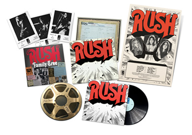 RuSH ReDISCovered LP Box Set