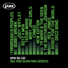 80's R&B Burn and Groove BPM96-132