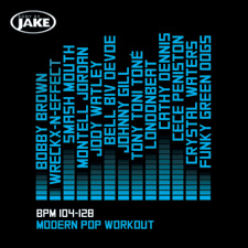 Modern Pop Workout BPM 104-128